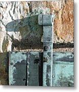 Armory Door 2 Metal Print