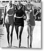 Army Bathing Suit Trio Metal Print