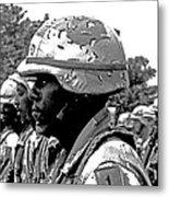 Army Strong Metal Print