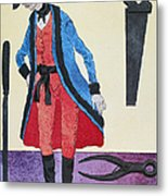 Army Surgeon, C1800 Metal Print