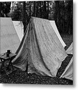 Army Tents Circa 1800s Metal Print
