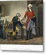 Arnold And Andre, 1780 Metal Print
