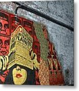 Arnolds And Graffiti Andre The Giant Has A Posse Metal Print