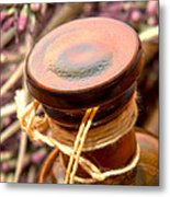 Aromatherapy Bottle Metal Print by Olivier Le Queinec
