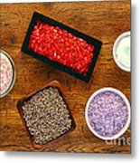 Aromatherapy Selection Metal Print by Olivier Le Queinec