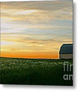 Aroostook Sunset Metal Print