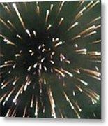 Around The Fourth Fireworks II Metal Print