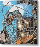 Around The World In Nyc Metal Print