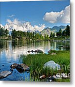 Arpy Lake - Aosta Valley Metal Print