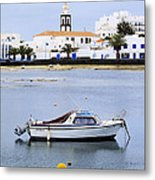 Arrecife On Lanzarote Metal Print