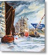 Arrival At The Hanse Sail Rostock Metal Print