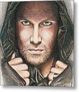 Arrow/ Stephen Amell Metal Print