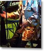 Arrow The Poet At Gigi's Music Cafee Metal Print by Shawn Lyte