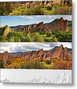Arrowhead Four Seasons-2 Metal Print