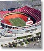 Arrowhead Stadium Kansas City Missouri Metal Print