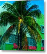 Art Deco Boulevard Hotel Miami Metal Print