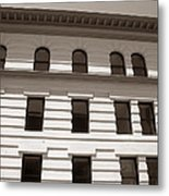 Out Of Line - Art Deco In San Francisco Metal Print