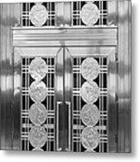 Art Deco Door 2 Metal Print