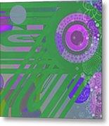 Art Deco Explosion 3 Metal Print