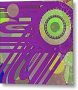 Art Deco Explosion 6 Metal Print