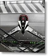Art Deco Theatre Metal Print