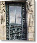 Art Deco Window Metal Print