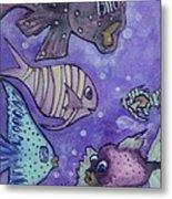 Fish Art Metal Print
