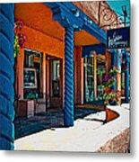 Art Gallery In Taos Metal Print