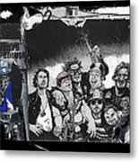 Art Homage James Montgomery Flagg Ww1 Poster Number 1 Midway Arizona State Fair Phoenix 1967  Metal Print