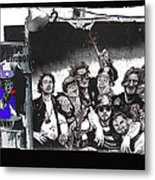 Art Homage James Montgomery Flagg Ww1 Poster Number 2 Midway Arizona State Fair Phoenix 1967 Metal Print