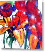 Art In The Eyes 3 Metal Print