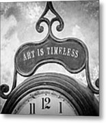 Art Is Timeless Metal Print