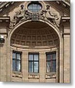 Art Nouveau In Riga 26 Metal Print