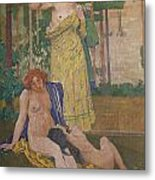 Art Nouveau Painting In The Mayors Metal Print