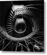 Art Nouveau Staircase Metal Print