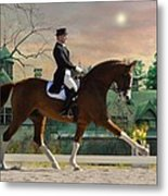 Art Of Dressage Metal Print
