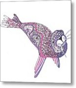 Art Seal Metal Print