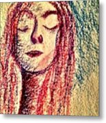 Art Therapy 153 Metal Print