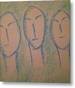 Art Therapy 193 Metal Print