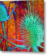 Art Thistles Metal Print