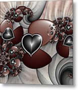 Art With Heart Metal Print