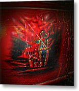 Art Work On Old Ford Truck Metal Print
