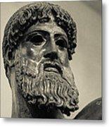 Artemision Zeus Metal Print