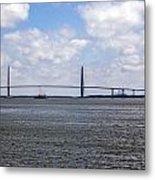 Arthur Ravenel Bridge Metal Print