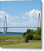 Arthur Ravenel Jr Bridge Metal Print