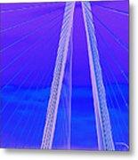 Arthur Ravenel Jr Bridge Iv Metal Print
