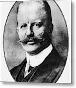 Arthur Zimmermann (1864-1940) Metal Print