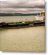 Artic Bridge In The Panama Canal Metal Print