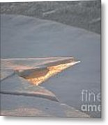 Artic Light Metal Print
