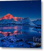 Artic Sunset Metal Print by Francesco Ferrarini